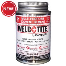 New! Compotite Weld Tite Multi-Purpose Solvent Cement