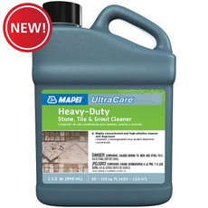 New! Mapei Heavy Duty Stone Tile and Grout Cleaner