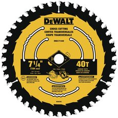 DeWalt 7-1/4 in. 40T Saw Blade
