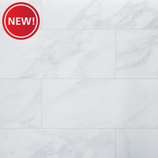 New! Marbella White Porcelain Tile