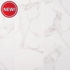 New! Arina Bianco Diamond Matte Porcelain Tile