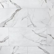 Levante White II Matte Ceramic Tile