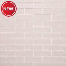 New! Blush Glass Tile
