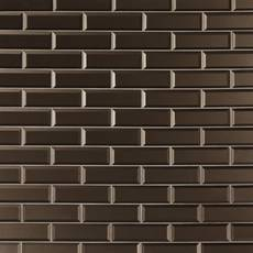 Tobacco Suede Glass Tile
