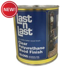New! Clear Gloss Polyurethane Abs 50004 Wood Stain