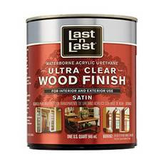 Satin Ultimate Waterborne Abs 13104 Wood Stain