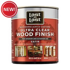 New! Satin Ultimate Waterborne Abs 13104 Wood Stain