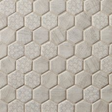 Wicker Park 2 in. Hexagon Glass Mosaic