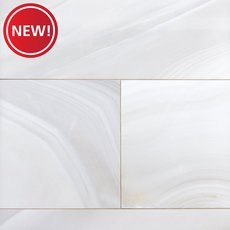 New! Montevino Onyx Polished Porcelain Tile