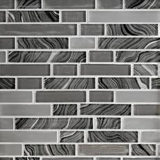 Caspian Linear Glass Mosaic