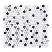 Sommelier Dolomite Marble Penny Mosaic