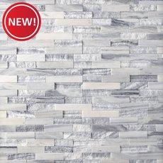 New! Geneva Mixed Marble Ledger Panel