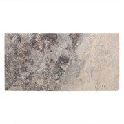 Argento II Honed Travertine Tile