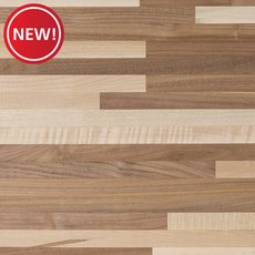 New! Walnut Maple Mix Butcher Block Countertop 12ft