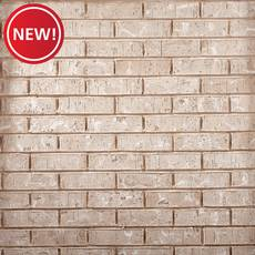 New! Bristol White Thin Brick Panel