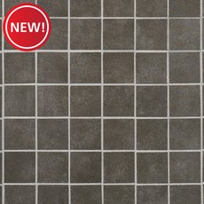 New! Uptown Antracite Matte Porcelain Mosaic