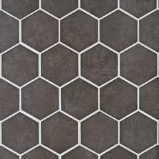 Uptown Antraite Hexagon Porcelain Mosaic