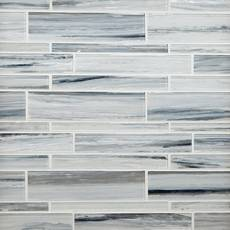 Misty Ford Linear Glass Mosaic