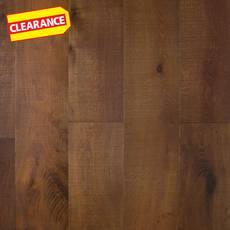 Clearance! Smoked White Oak II Wire Brushed Engineered Hardwood