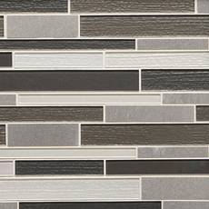 Denali Linear Glass Mosaic