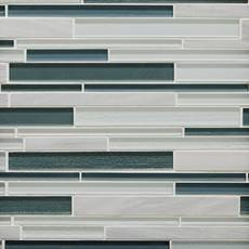 Cypress Hill Linear Glass Mosaic
