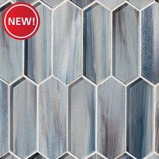 New! Daybreak Picket Glass Mosaic