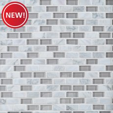 New! Marguerite Mother of Pearl and Glass Mosaic
