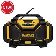 New! Dewalt Bluetooth Radio and Charger