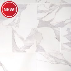 New! Dimarmi Bianco Polished Porcelain Tile