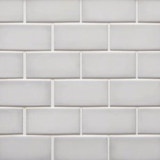 La Belle Purity 2 x 4 in. Brick Ceramic Mosaic