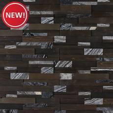New! Ebony Grove Stone Mix Marble Panel Ledger