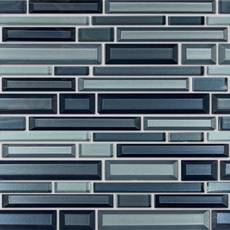 Veronique Vetro Linear Glass Mosaic