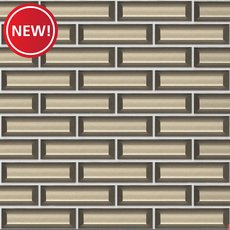 New! Champagne Vetro Glass Mosaic