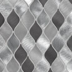 Naxos Lantern Aluminum Metallic Mosaic