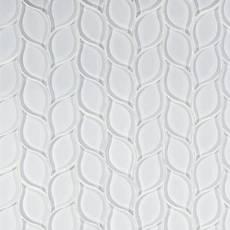 Winter Cloud Leaf Glass Mosaic