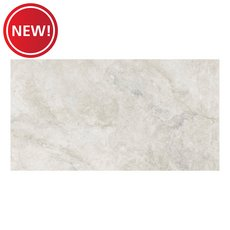 New! Kodiak White II Polished Porcelain Tile