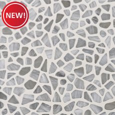 New! Shelter Cove Glass Pebble Mosaic