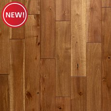 New! Burlywood II Acacia Distressed Solid Hardwood