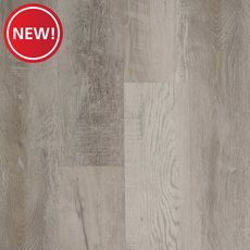 New! Highland White Rigid Core Luxury Vinyl Plank - Foam Back