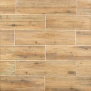 Mansfield Amber III Porcelain Wood Plank Tile