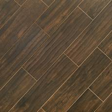 Burton Walnut III Wood Plank Porcelain Tile