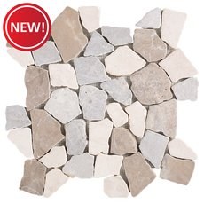 New! Java Honed Pebble Mosaic