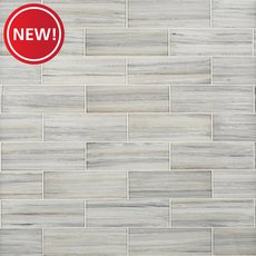 New! Misty Cove Glass Tile