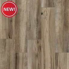 New! New Kent Gray II Wood Plank Porcelain Tile