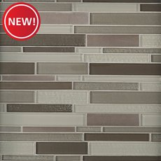 New! City Chic Linear Glass Mosaic