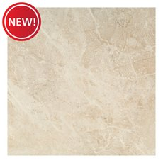 New! Crema Imperial Polished Ceramic Tile