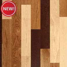 New! Bozeman White Oak Wire-Brushed Solid Hardwood