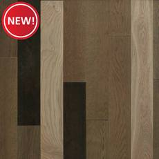New! Billings White Oak Wire-Brushed Solid Hardwood