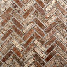 Castle Gate Thin Brick Herringbone Panel Ledger