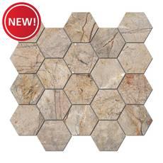New! Bellmeade Hexagon Porcelain Mosaic